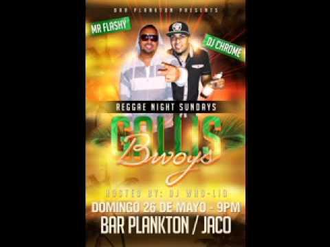 Dj Chrome -n- Mr  Flashy LIVE mixtape Jaco Plankton Bar Sunday May 26th, 2013