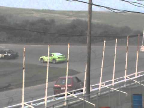 Kings Park Speedway Mini Stock Heat #1 July 4 2015