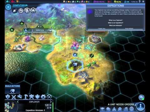 Civilization Beyond Earth Let's Play Blind - Episode 3