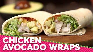 Chicken Avocado Wraps Recipe | Avocados From Mexico