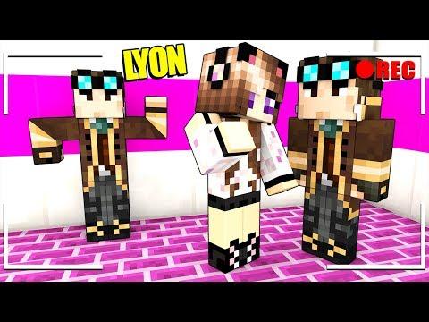 NASCONDO UN FINTO LYON NEL VIDEO DI ANNA SU MINECRAFT!!!
