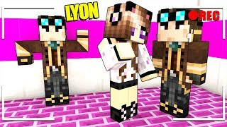 NASCONDO UN FINTO LYON NEL VIDEO DI ANNA SU MINECRAFT!!!