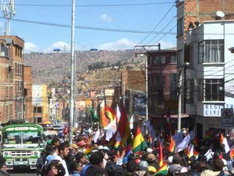 Interview Fernando Vargas 27 June TIPNIS march