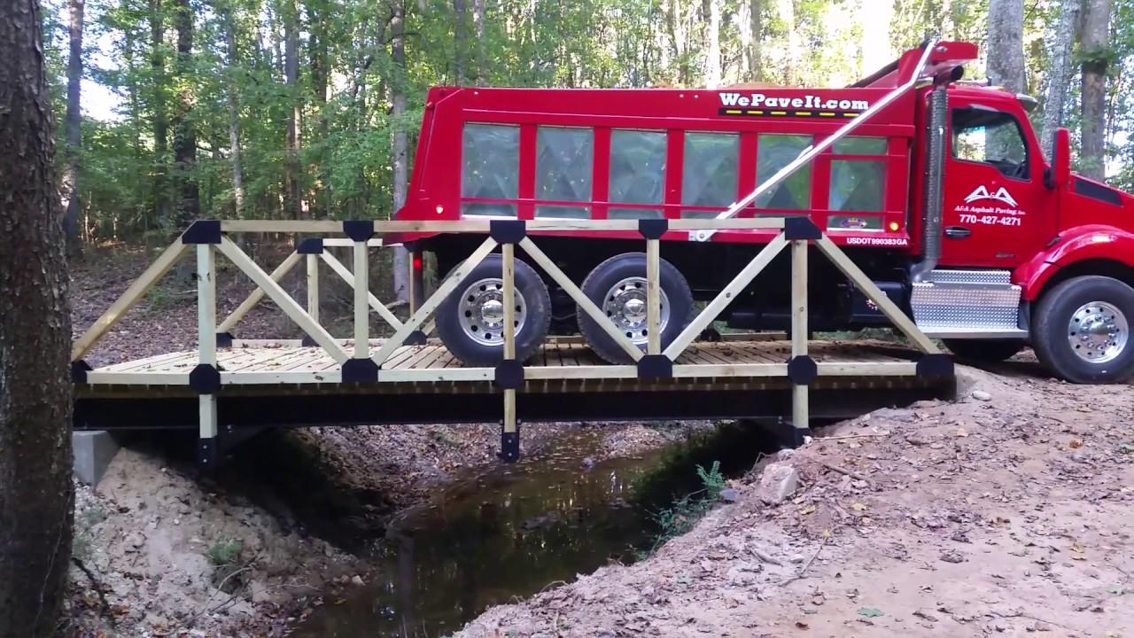 Residential Driveway Bridge Fill 1