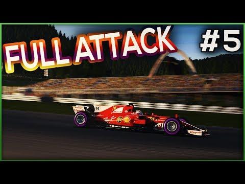FULL ATTACK - AUTRICHE - F1 2017