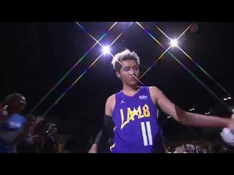 180217 Kris Wu -2018 NBA All Star Celebrity Game