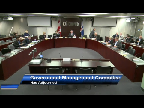 Government Management Committee - May 1, 2017
