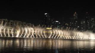 Dubai Fountain - Lionel Richie (All Night Long)