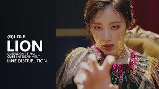 Download lagu I DLE 아이들 LION Line Distribution