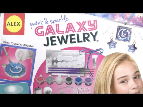 Paint and Sparkle Galaxy Jewelry from Alex Brands