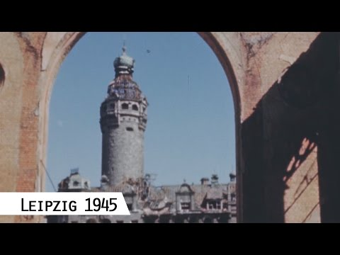 Leipzig in April 1945 (in color and HD)