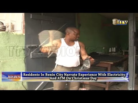 Residents In Benin City Narrates Experiences With Electricity And ATM On Christmas Day