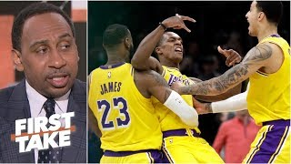Rajon Rondo is a key piece for Lakers' playoffs hopes – Stephen A. | First Take