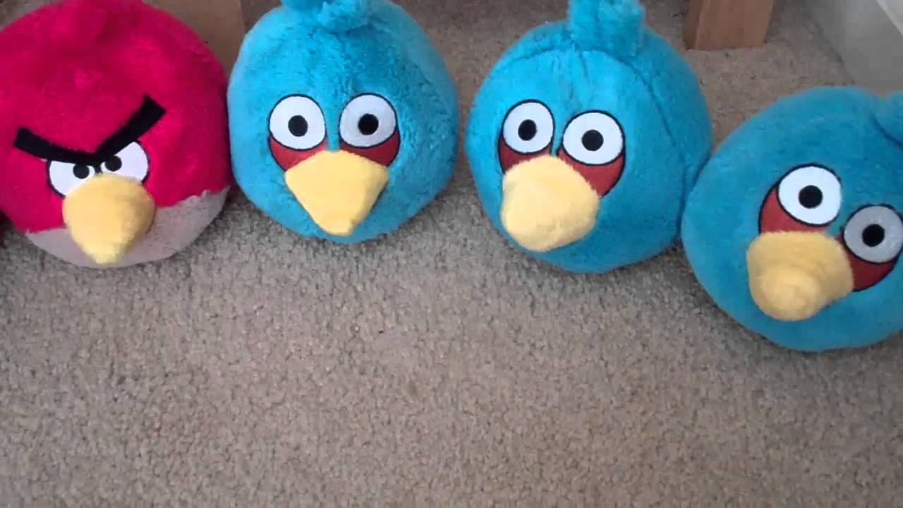 My Angry Birds Plush Collection Youtube
