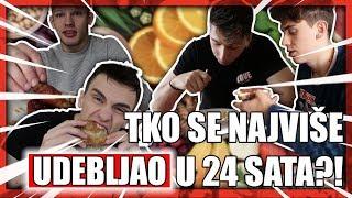 TKO ĆE DOBITI VIŠE KILOGRAMA U 24 SATA? (IZAZOV) | TheSikrt, Svenky, Bruno Lukić, 10ficho