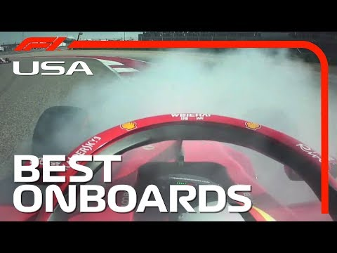 Max and Lewis' Duel, Kimi's Cockpit Celebrations + The Best Austin Onboards | 2018 US Grand Prix