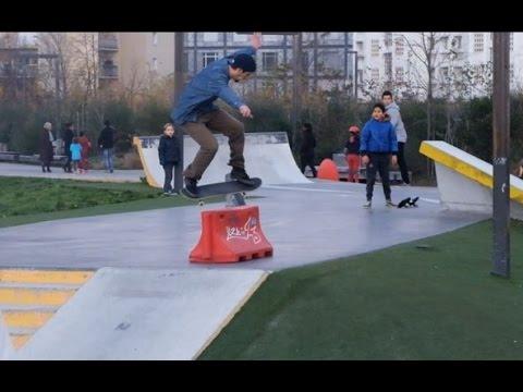 Skatepark Blandan - Lyon