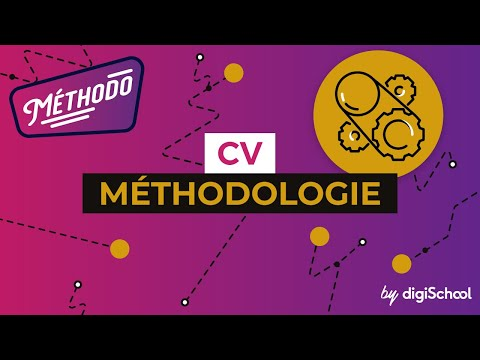 CV - Méthodologie - digiSchool