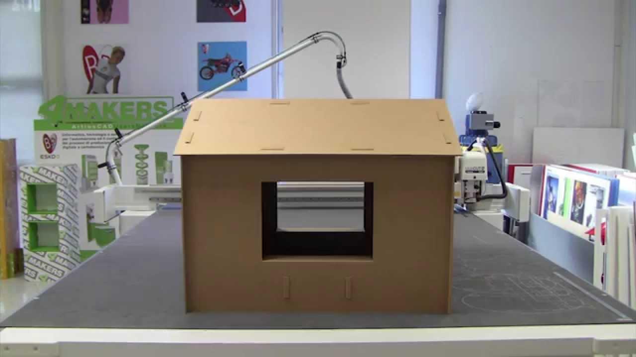 Casetta in cartone youtube for App per costruire case