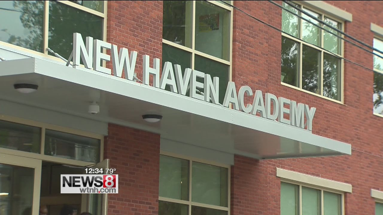 New home for New Haven Academy - YouTube