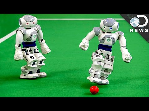 Robot vs. Human: Who's The Better Soccer Player? poster