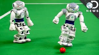 Robot Vs. Human: Who's The Better Soccer Player?