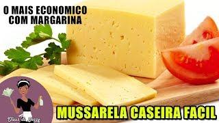 Queijo Mussarela Caseiro – O Mais Econômico Com Margarina
