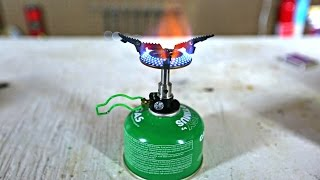 World's Smallest Stove
