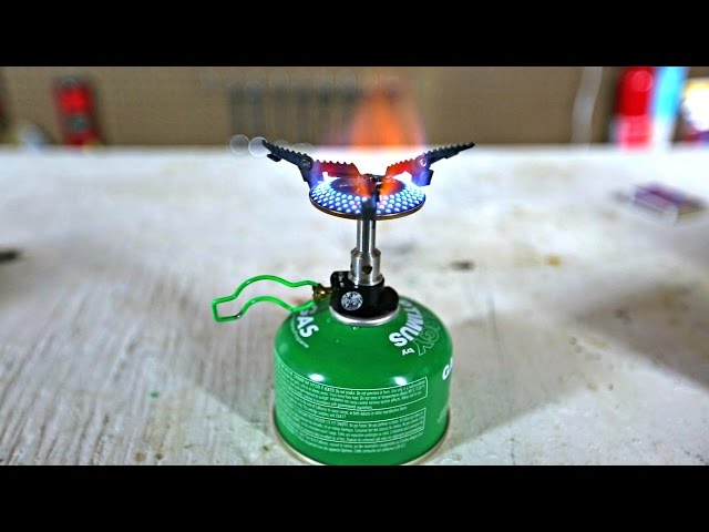 Worlds Smallest Stove