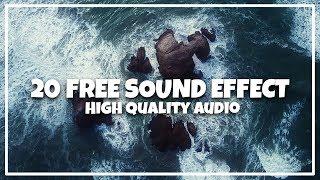 20 Free Transitions Sound Effect! | Swoosh, Swish, woosh (free download) | Transisi Sound fx keren!