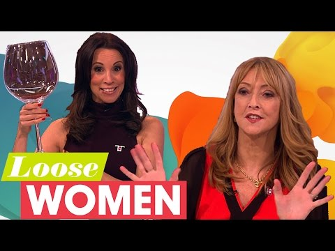 Loose Women & Sharon Maughan Discuss Drinking Habits  Loose Women