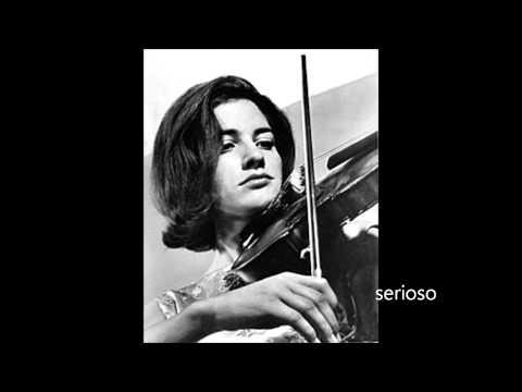 Edith Peinemann, Violin , Dvorak Violin Concert Op 53, 1,2mov