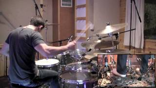 Meshuggah - Chaosphere Album Medley Drum Cover by Troy Wright