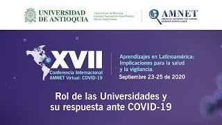 Conferencia: Rol de las Universidades y su respuesta ante COVID-19