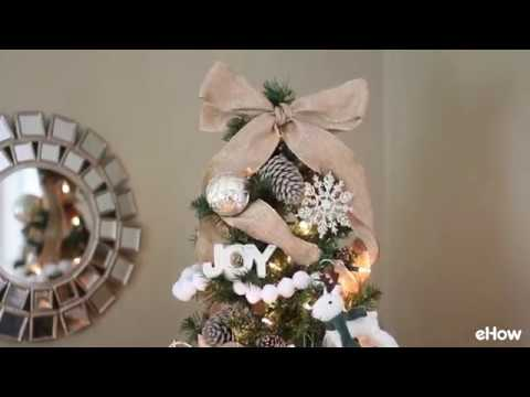 How To Put Ribbon On Christmas Tree.How To Put Ribbon Garland On A Christmas Tree Hunker