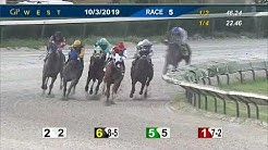 Gulfstream Park West October 3, 2019 Race 5
