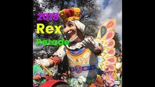 2018 Krewe of Rex Parade King of Carnival