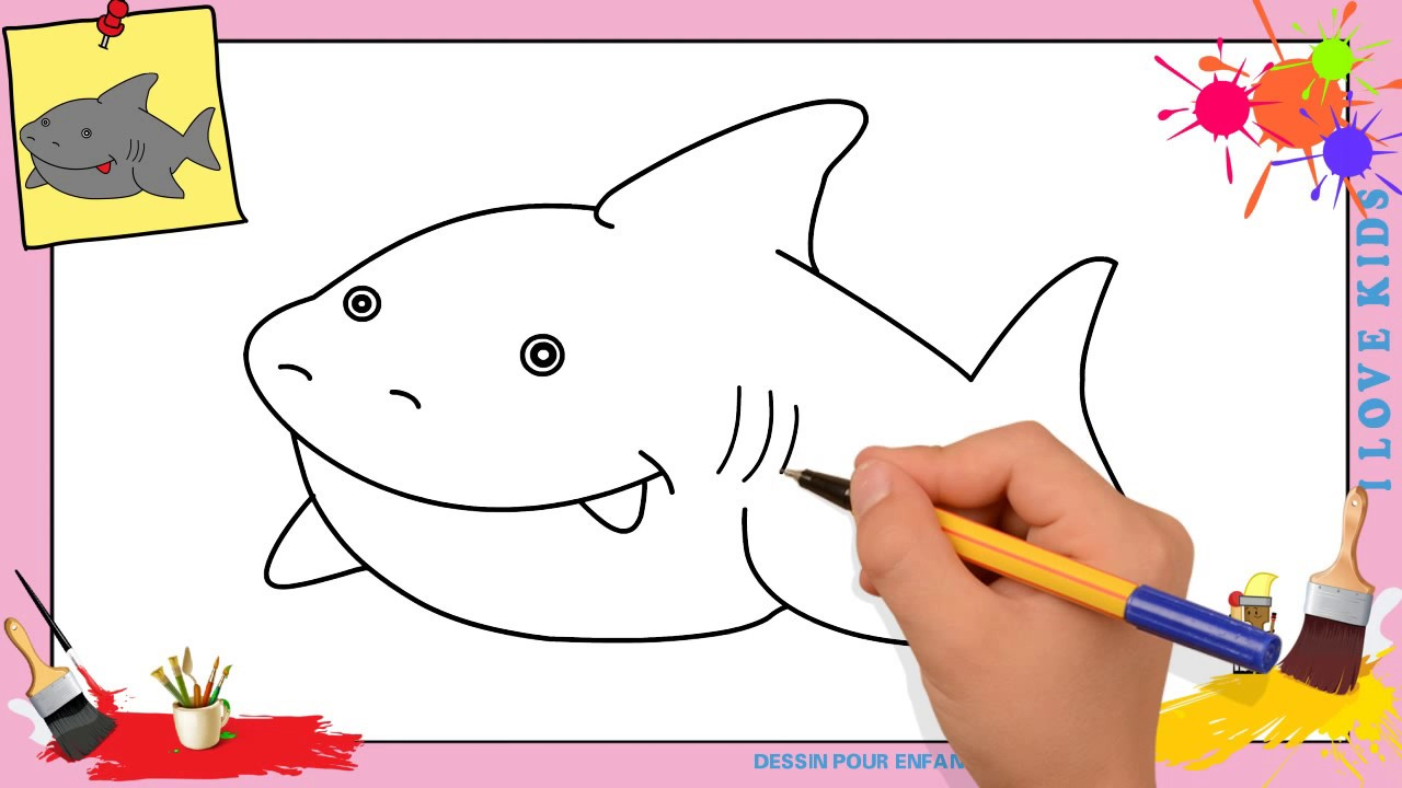 Dessin requin kawaii facile comment dessiner un requin kawaii facilement youtube - Requin a dessiner ...