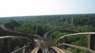 Beast Front Seat on-ride POV Kings Island