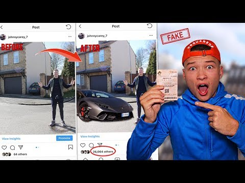 I FAKED winning MILLIONS on the LOTTERY and it ACTUALLY WORKED *PRANK ON INSTAGRAM FOLLOWERS*