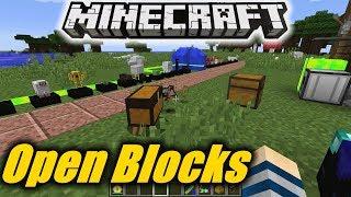Open Blocks 🚧🚩 || Mod & Tutorial 1.10.2 – Deutsch
