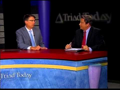 Triad Today interview with NC Governor Pat McCrory, July 2015 (part 1)