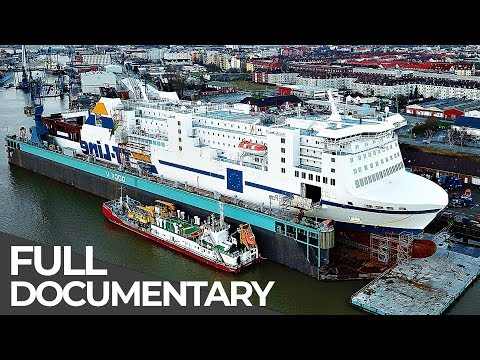 Gigantic Car Ferry Heavy Maintenance | Mega Pit Stops | Episode 5 | Free Documentary