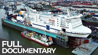 Gigantic Car Ferry Heavy Maintenance | Mega Pit Stops | Epis...