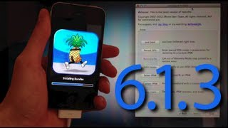 iOS 6.1.3 Jailbreak Semi Untethered et Hacktivation sans carte SIM - iPhone 4, 3GS, iPod touch 4G