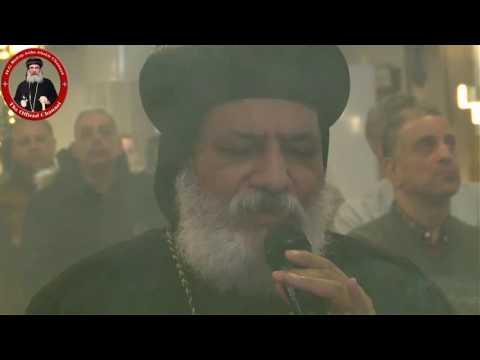 عشية الأنبا كيرلس والأنبا أباكير كنيسة مارمرقس بالسويد 26/12/16 Vesper Anba Kyrillos & Anba Abakir