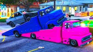 Wenn du zu langsam fährst, EXPLODIERST du in GTA ONLINE!