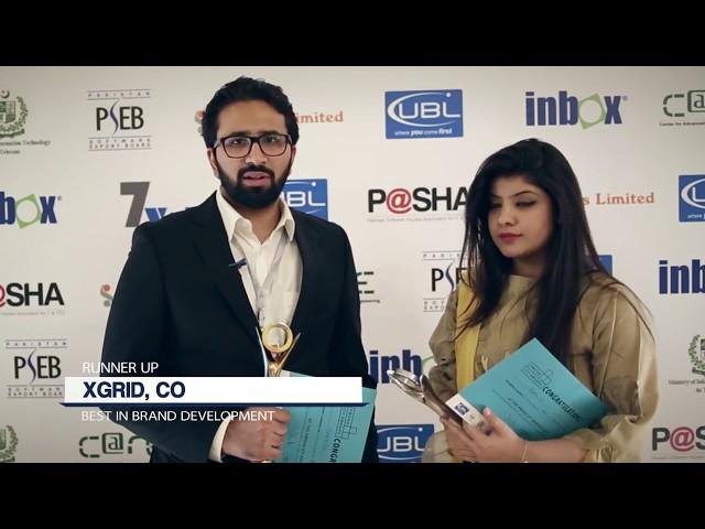 Xgrid at P@SHA ICT Awards 2017