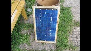 Самодельная солнечная панель