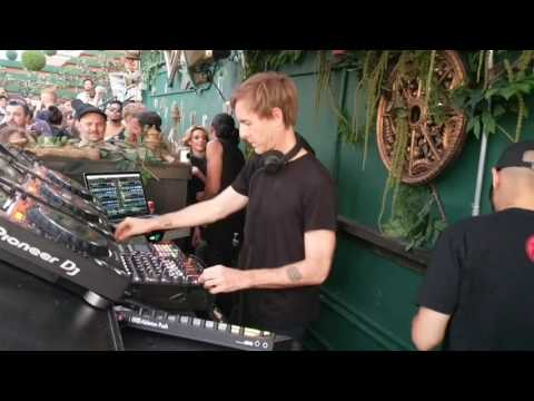 Richie Hawtin playing at Output Brooklyn, NYC 06.03.2017